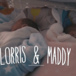 Lorris et Maddy, 15 jours font du peau à peau