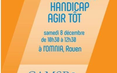 """La campagne """"Agir tôt"""" présentée à Rouen"""