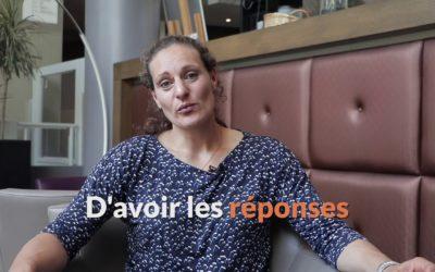 Melina Robert-Michon encourage les parents à parler de leurs doutes