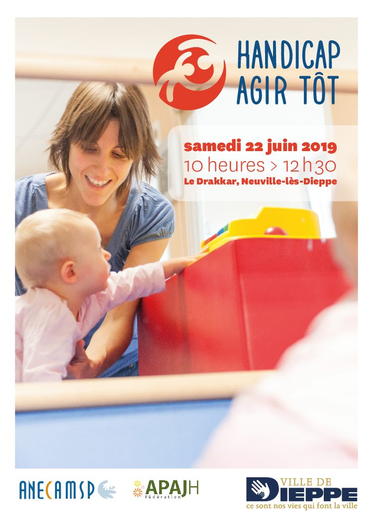 """""""Handicap: Agir Tôt"""" vous donne rendez-vous à Dieppe le 22 Juin."""