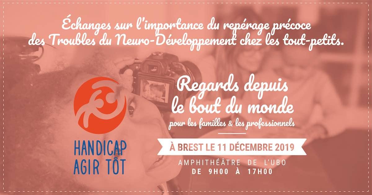 Journée pour le répérage précoce à Brest le 11 décembre 2019